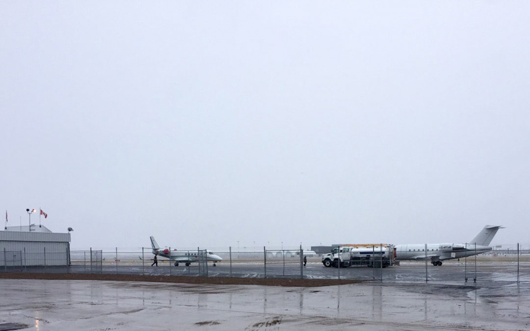New Apron Completed at Fort McMurray Airport