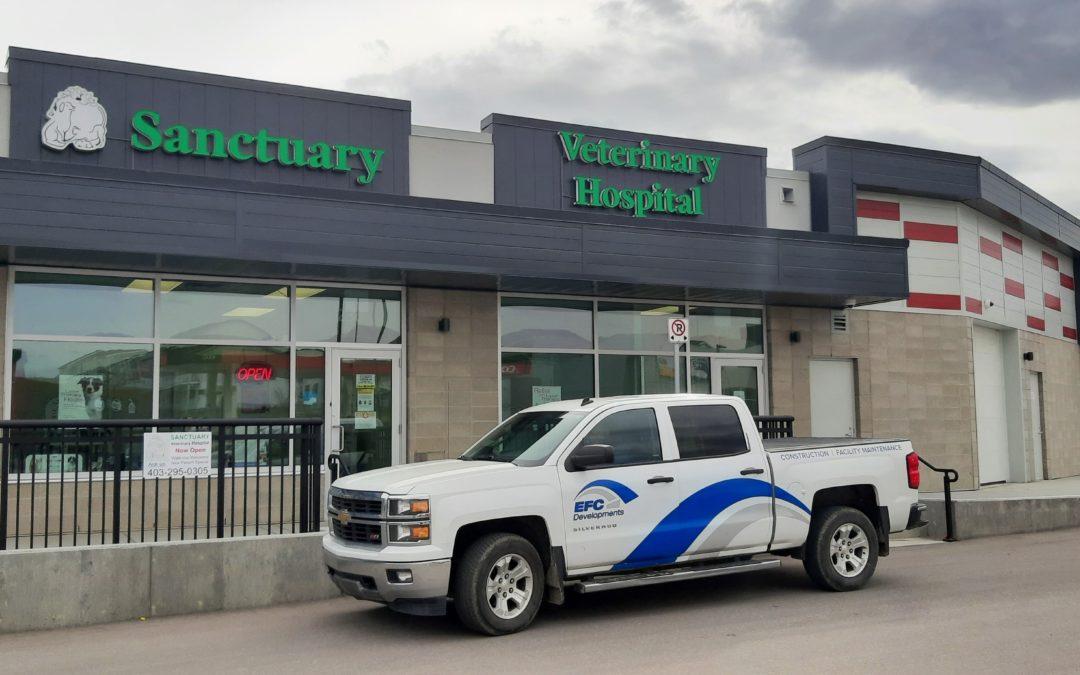 Sanctuary Vet Hospital Development – Calgary